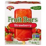 Hannaford Frozen Fruit Bars Strawberry