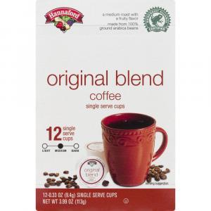 Hannaford Original Blend Coffee Single Serve Cup