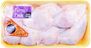 Hannaford Grade A All Natural Whole Chicken Legs Family Pack