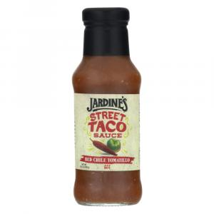 Jardine's Hot Red Chile Tomatillo Street Taco Sauce