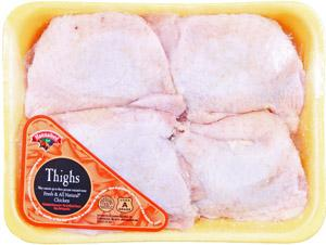Hannaford Grade A All Natural Chicken Thighs