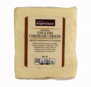 Taste of Inspirations Imported English Cheddar Cheese