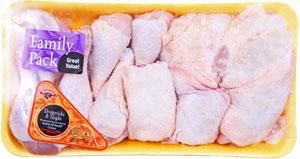 Hannaford Grade A Chicken Drumstick & Thigh Combo Fam Pack