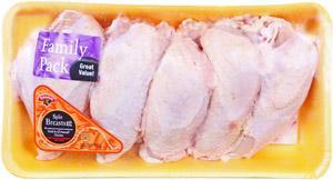 Hannaford Grade A Split Chicken Breast Family Pack