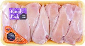 Hannaford Grade A Boneless Chicken Breast Family Pack