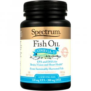 Spectrum Naturals Norwegian Fish Oil Omega-3
