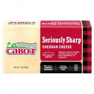 Cabot Hunter's White Cheddar Cheese Brick