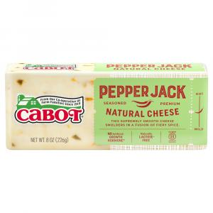 Cabot Pepperjack Cheese Bar