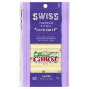 Cabot Swiss Sliced Cheese