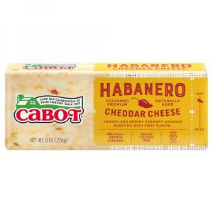 Cabot Habanero Cheddar Cheese Bar