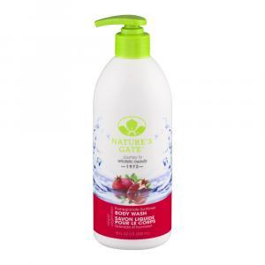Nature's Gate Body Wash Pomegranate Sunflower Sulfate Free