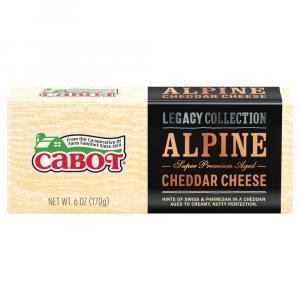 Cabot Alpine Cheddar Bar