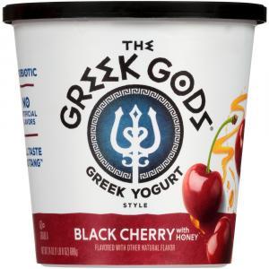 The Greek Gods Black Cherry Greek Yogurt