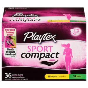 Playtex Sport Compact Multipack