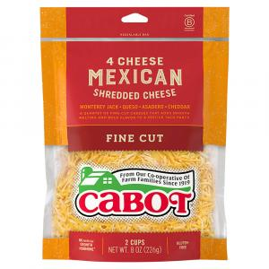 Cabot 4 Cheese Mexican Shredded