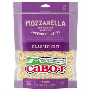 Cabot Shredded Mozzarella Cheese