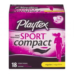 Playtex Sport Compact Regular