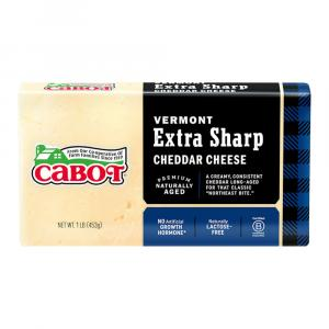 Cabot Vermont Extra Sharp Cheddar Cheese Bar