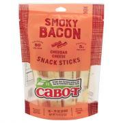 Cabot Smoky Bacon Cheddar Cheese Snack Sticks