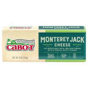 Cabot Monterey Jack Cheddar Cheese  Bar