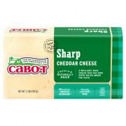Cabot Sharp Cheddar Cheese Brick