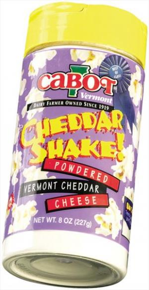 Cabot Cheddar Cheese Shaker