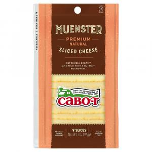 Cabot Muenster Sliced Cheese