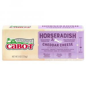 Cabot Horseradish Cheddar Cheese Bar