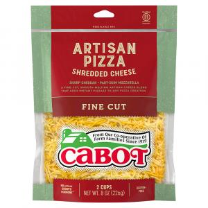 Cabot Fancy Mozzarella & Shredded Cheddar Cheese