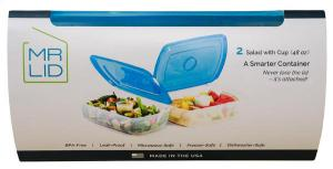 Mr Lid A Smarter Container Salad with Cup Set