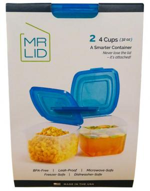 Mr Lid A Smarter Container 4 Cup Set