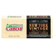 Cabot New York Vintage Premium Aged Cheddar Cheese Bar