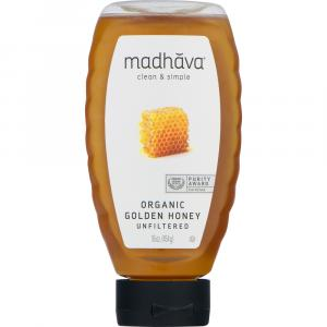 Madhava Organic Unfiltered Golden Honey