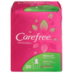 Carefree Regular Fresh Scent
