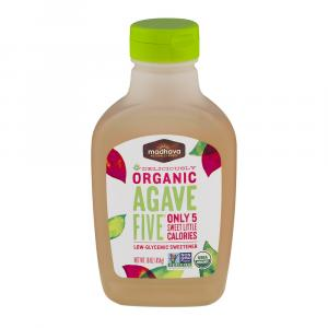 Madhava Organic Agave Five Low Glycemic Sweetener