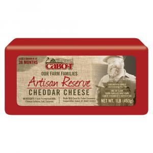 Cabot Artisan Reserve White Cheddar Cheese
