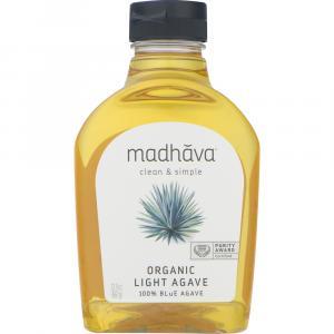 Madhava Organic Golden Light Blue Agave
