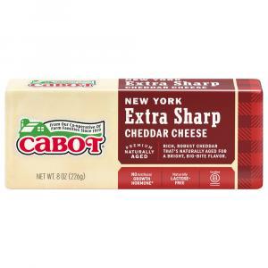 Cabot New York Extra Sharp White Cheddar Bar