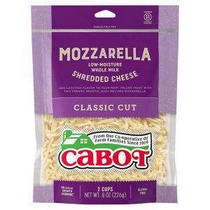 Cabot Shredded Whole Milk Mozzarella Cheese