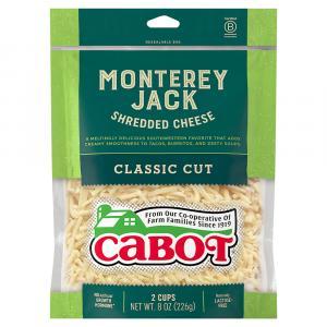 Cabot Monterey Jack Shredded Cheese
