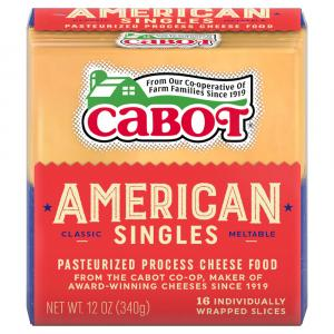 Cabot Yellow American Sliced Cheese