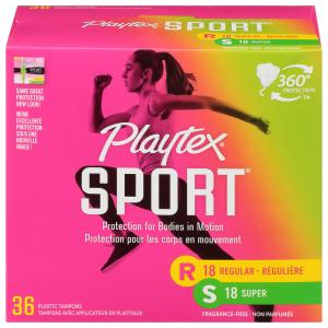 Playtex Sport Unscented Multipack Tampons