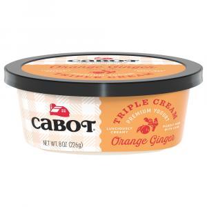 Cabot Triple Cream Orange Ginger Premium Yogurt