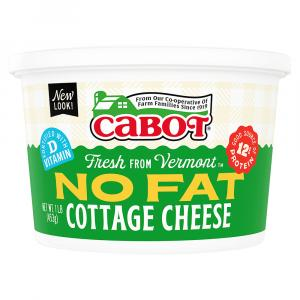 Cabot Vermont Style No Fat Cottage Cheese