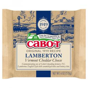 Cabot Lamberton Vermont Cheddar Cheese