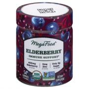MegaFood Organic Elderberry Immune Support Gummies