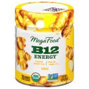 MegaFood B12 Energy Organic Ginger Root Gummies