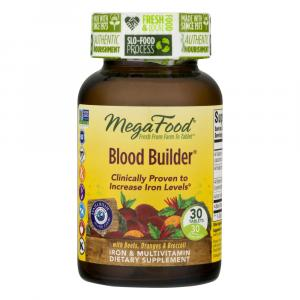 MegaFood Blood Builder Dietary Supplement