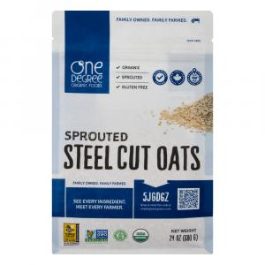 One Degree Organic Gluten Free Sprouted Steel Cut Oats