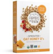 One Degree Organic Sprouted Oat Honey O's